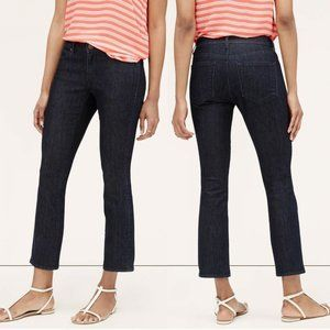 Nwt Loft curvy kick crop denim jeans 29 8